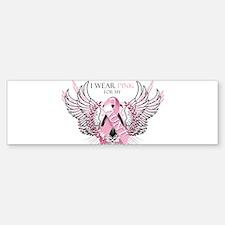 I Wear Pink for my Aunt Bumper Bumper Sticker