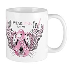 I Wear Pink for my Aunt Mug