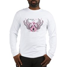 I Wear Pink for my Aunt Long Sleeve T-Shirt