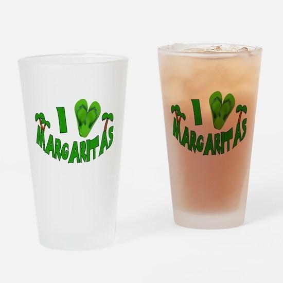 I love Margaritas Drinking Glass