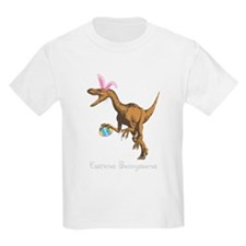 3-easter dinosaur for dark T-Shirt