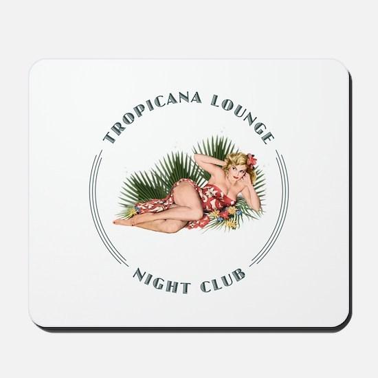 Tropicana Lounge Girl 2 Mousepad