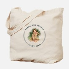 Tropicana Lounge Girl 1 Tote Bag