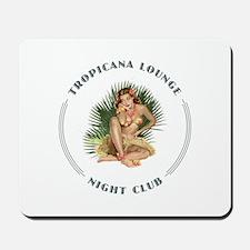 Tropicana Lounge Girl 1 Mousepad