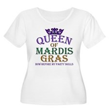 Queen of Mardis Gras T-Shirt