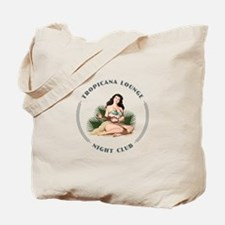 Tropicana Lounge Girl 3 Tote Bag