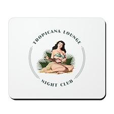 Tropicana Lounge Girl 3 Mousepad