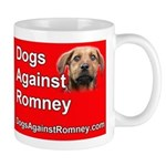 "Official Dogs Against Romney ""Rusty"" Mug"