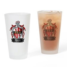 MURPHY COAT OF ARMS Drinking Glass