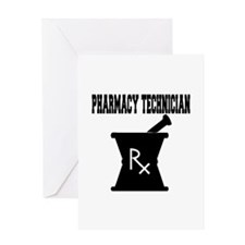Pharmacy Technician Rx Greeting Card