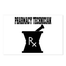 Pharmacy Technician Rx Postcards (Package of 8)