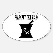 Pharmacy Technician Rx Decal