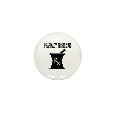 Pharmacy Technician Rx Mini Button