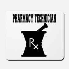 Pharmacy Technician Rx Mousepad