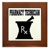Rx technician Framed Tiles