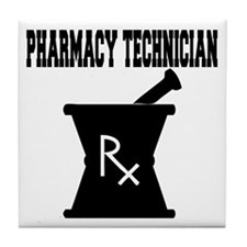 Pharmacy Technician Rx Tile Coaster