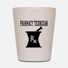 Pharmacy Technician Rx Shot Glass