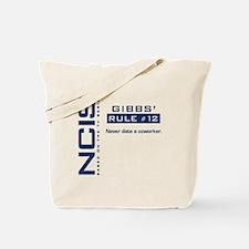 NCIS Gibbs' Rule #12 Tote Bag