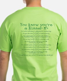 You Know You're a Runner If T-Shirt