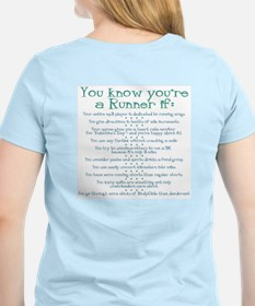 You Know You're a Runner If Women's Pink T-Shirt
