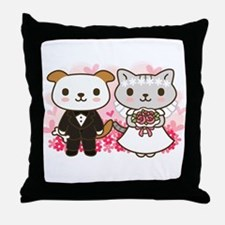 Great Marriage Throw Pillow