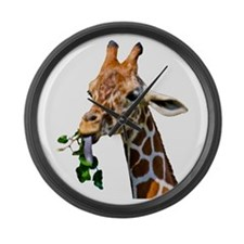 Giraffe Large Wall Clock