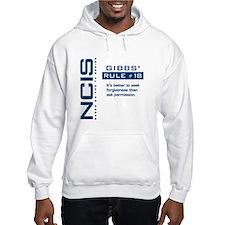 NCIS Gibbs' Rule #18 Hoodie