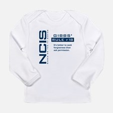 NCIS Gibbs' Rule #18 Long Sleeve Infant T-Shirt