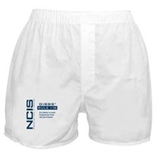 NCIS Gibbs' Rule #18 Boxer Shorts