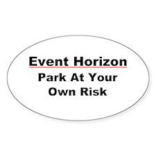 Event Horizon: Parking Risk Decal