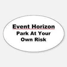 Event Horizon: Parking Risk Decal
