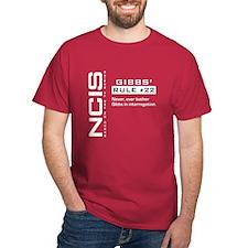 NCIS Gibbs' Rule #22 T-Shirt