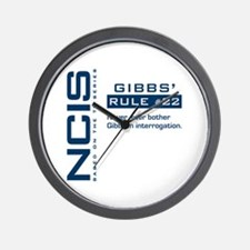NCIS Gibbs' Rule #22 Wall Clock