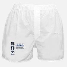 NCIS Gibbs' Rule #22 Boxer Shorts