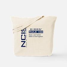 NCIS Gibbs' Rule #22 Tote Bag