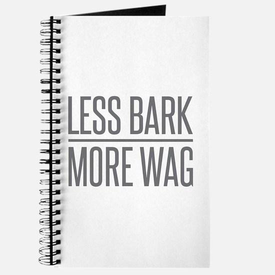 Less Bark More Wag Journal