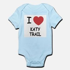 I heart katy trail Infant Bodysuit