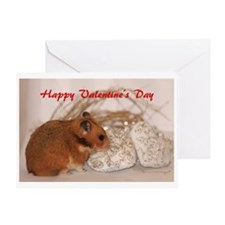 Unique Hamsters syrian hamster Greeting Card