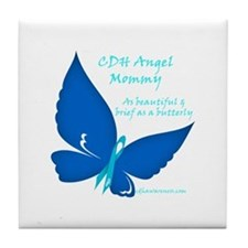 CDH Angel Mommy Tile Coaster