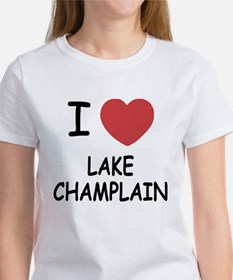 I heart lake champlain Women's T-Shirt