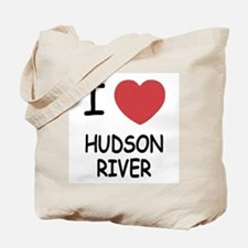 I heart hudson river Tote Bag