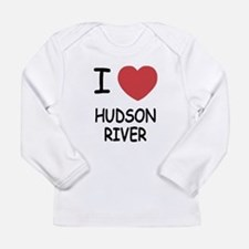 I heart hudson river Long Sleeve Infant T-Shirt