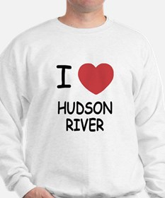 I heart hudson river Sweatshirt