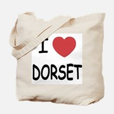 I heart dorset Tote Bag