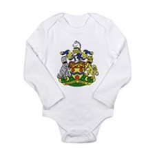 Maidstone United Long Sleeve Infant Bodysuit