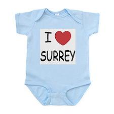 I heart surrey Infant Bodysuit