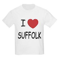 I heart suffolk T-Shirt