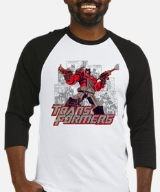 Transformers Comic Book Baseball Jersey