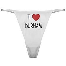 I heart durham Classic Thong