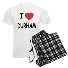 I heart durham Pajamas